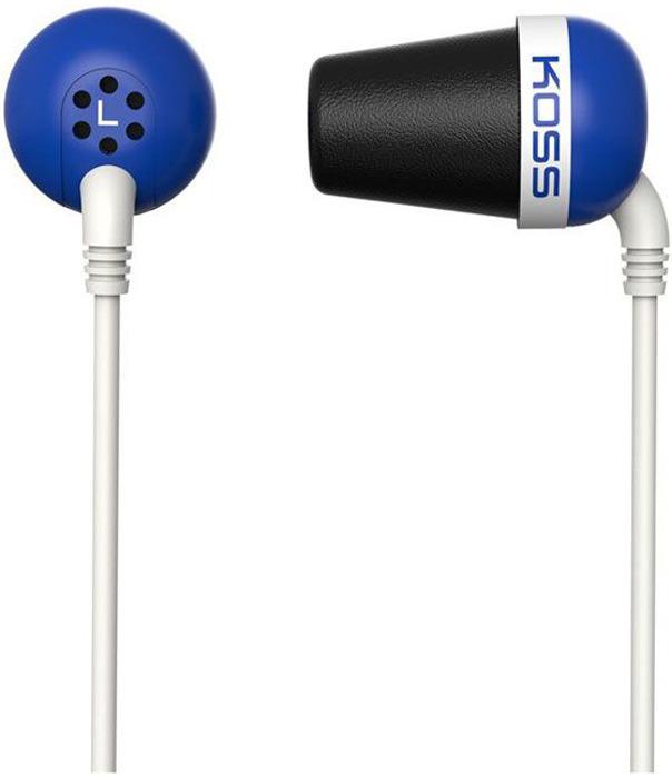 Koss The Plug, Blue наушники