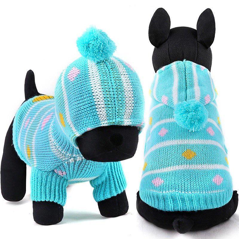 Одежда для собак Arnydog.ru Свитер Пумпон 330310770_xs, голубой