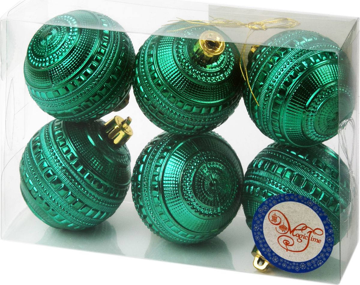 Набор новогодних подвесных украшений Magic Time
