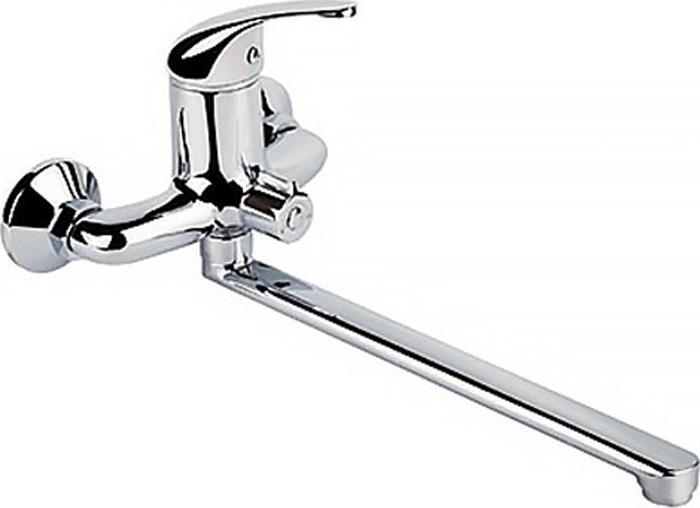 Смеситель для ванны РМС, с длинным поворотным изливом, цвет: хром. SL128-006E цена 2017