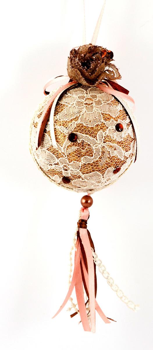 Игрушка ёлочная Русские подарки Шар, 20 см игрушка ёлочная русские подарки колокольчик 8 см