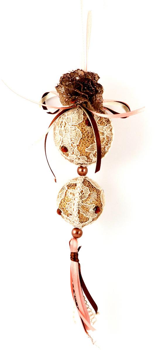 Игрушка ёлочная Русские подарки Шары, 22 см игрушка ёлочная русские подарки колокольчик 8 см