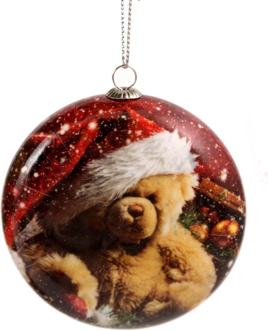 Игрушка ёлочная Русские подарки Мишка, 8 х 3 х 9 см игрушка ёлочная русские подарки шары 22 см