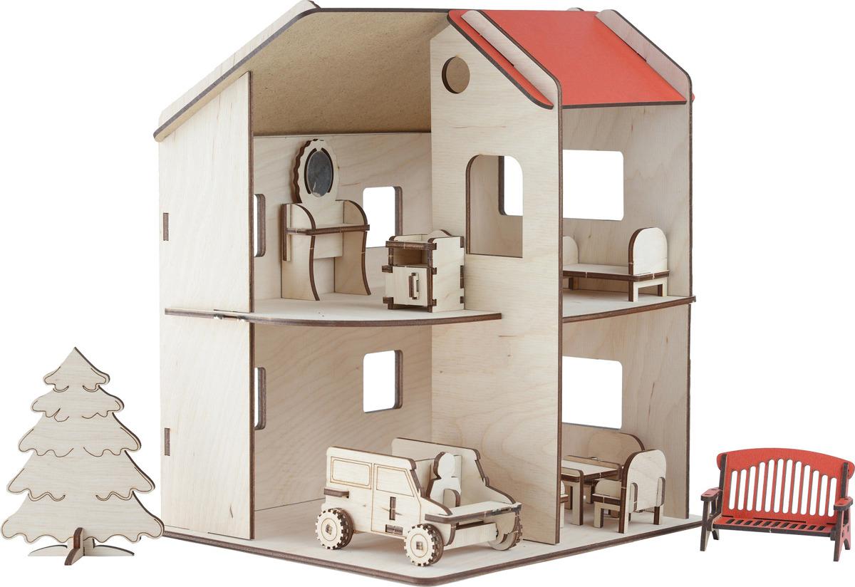 Дом для кукол Большой Слон Д-014 цена и фото
