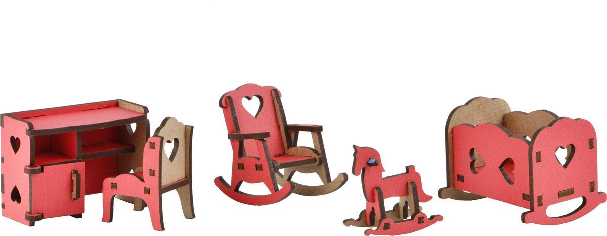 Мебель для кукол Большой слон Волшебный 3D-город Детская, М-011М-011Мебель для кукол Большой Слон Детская просто необходима в домике у любимой куколки.Набор, выполненный из натурального дерева, надолго займет внимание вашей малышки.Набор включает в себя: манеж, кресло-качалку, стол, стул, лошадку-качалку.Вся мебель из набора выполнена из натурального дерева и требует сборки. При сборке мебели развивается мелкая моторика рук, а при игре - воображение и фантазия ребенка.Такой набор подойдет небольшим куколкам вашей малышки. Порадуйте свою принцессу таким замечательным подарком!