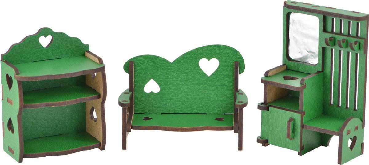 Мебель для кукол Большой слон Волшебный 3D-город Прихожая, М-015 большой слон мебель для кукол детская