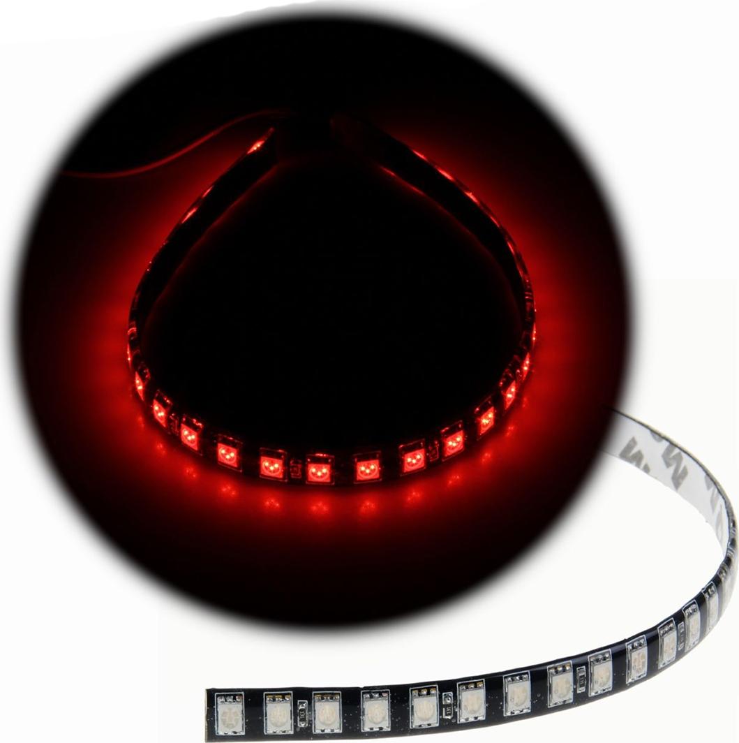 Светодиодная лента для авто Torso 30 LED-SMD5050, 30 см, 12 В, IP65, 7,2 Вт, свет красный. 1058813