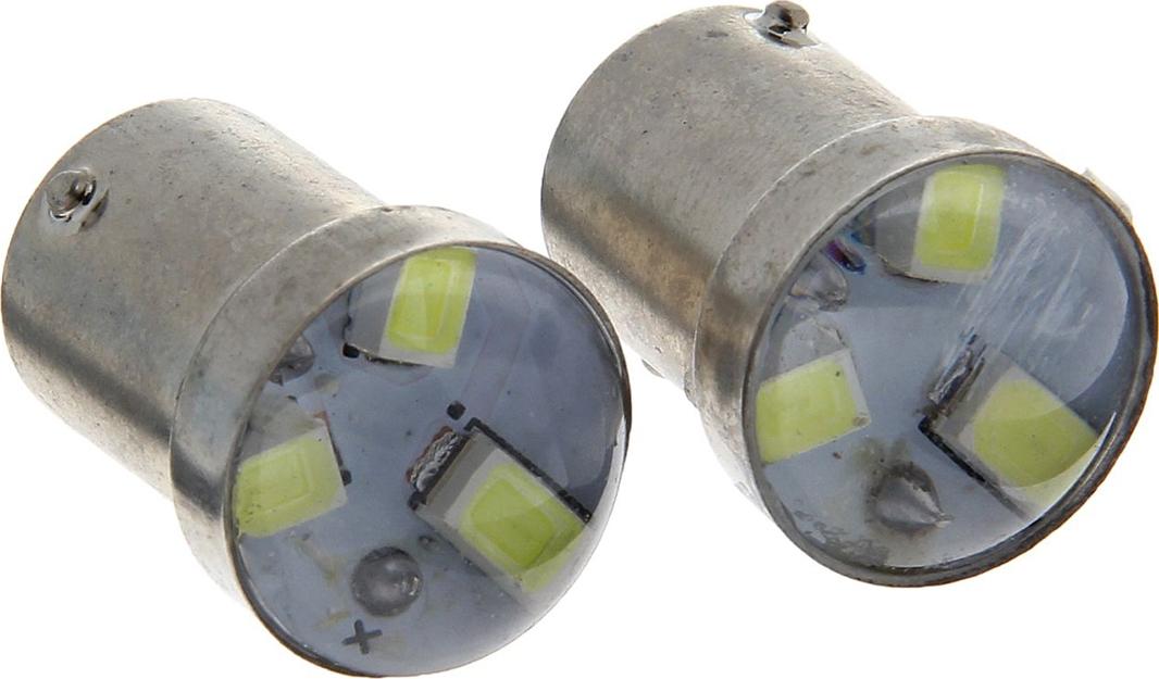 Комплект светодиодных ламп Torso P21/W, 12 В, 3 SMD-5630, свет белый, 2 шт. 1059243