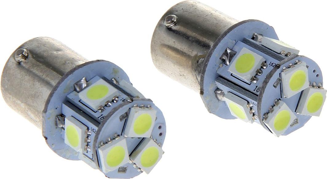 Комплект светодиодных ламп Torso P21/W, 12 В, 8 SMD-5050, свет белый, 2 шт. 1059246