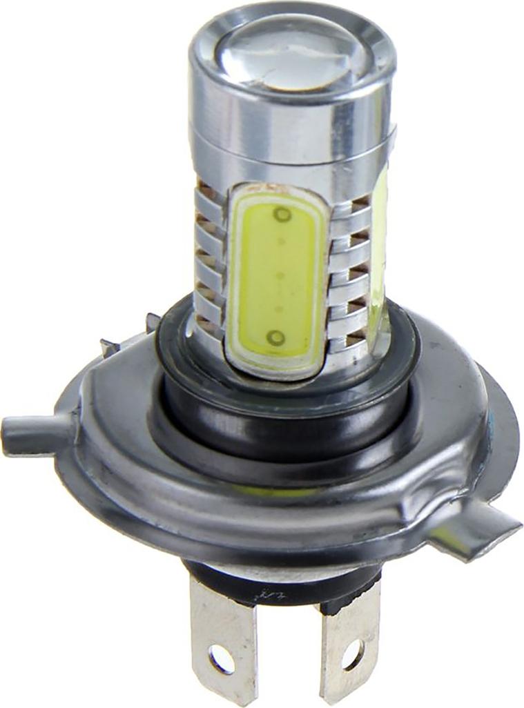 Автолампа светодиодная Torso H4, 12 В, 7,5 Вт, 5 LED-COB, свет белый. 1059265