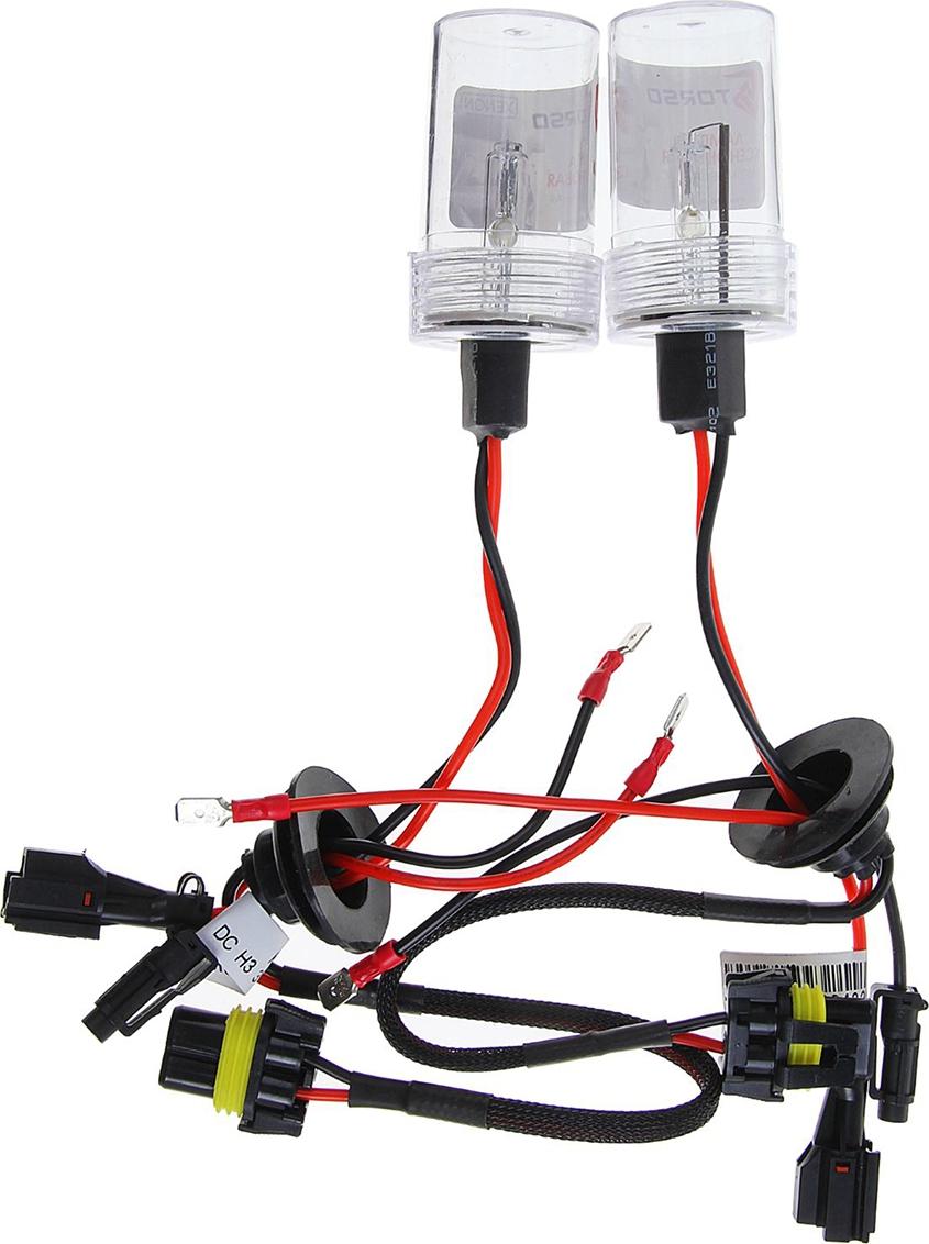 Комплект ксеноновых ламп Torso H3, для блоков DC, 12 В, 4300 К, 2 шт. 1059325