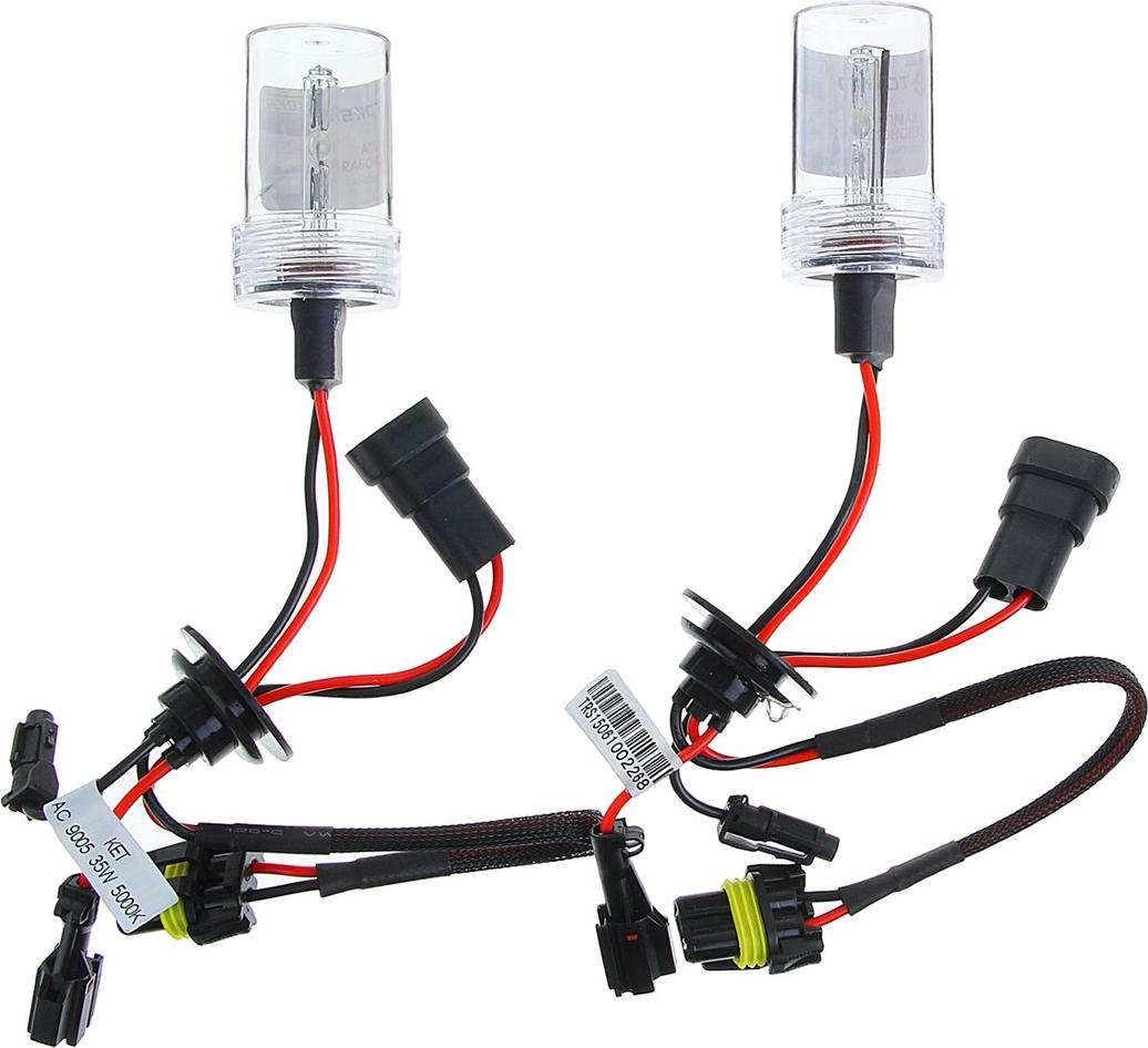 Комплект ксеноновых ламп Torso HB3 (9005), для блоков DC, 12 В, 4300 К, 2 шт. 1059330