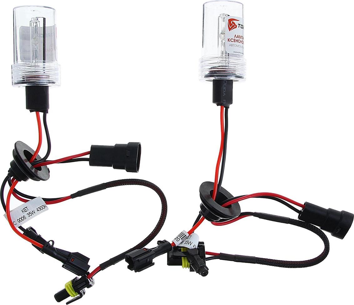 Комплект ксеноновых ламп Torso HB4 (9006), для блоков DC, 12 В, 4300 К, 2 шт. 1059331