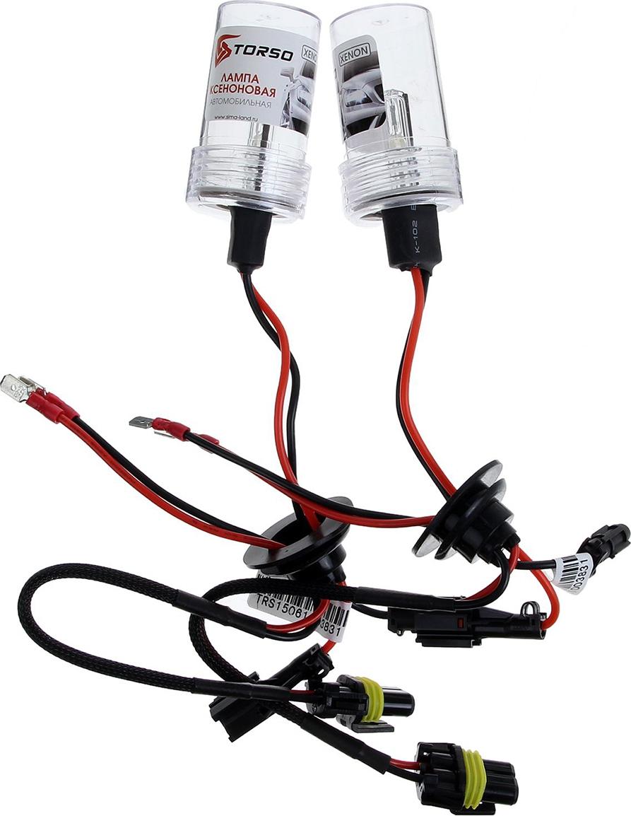 Комплект ксеноновых ламп Torso H3, для блоков DC, 12 В, 5000 К, 2 шт. 1059335