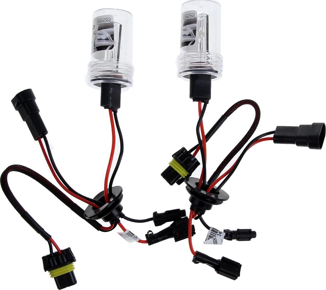 Комплект ксеноновых ламп Torso H10, для блоков AC, 12 В, 4300 К, 2 шт. 1059367