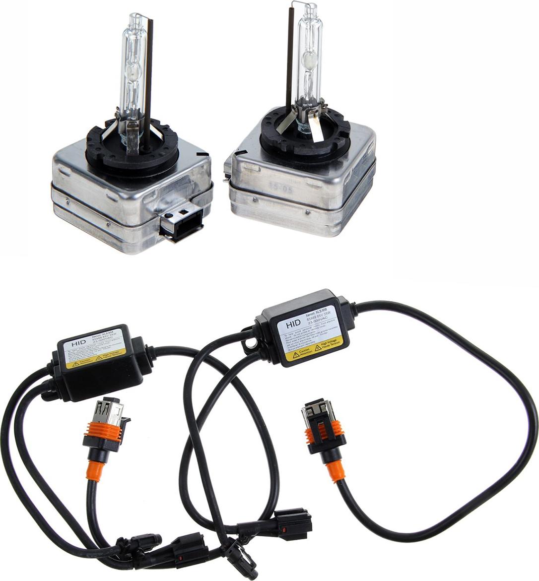 Комплект ксеноновых ламп Torso D1S, 12 В, для блоков AC, 5000 К, 2 шт. 1059381