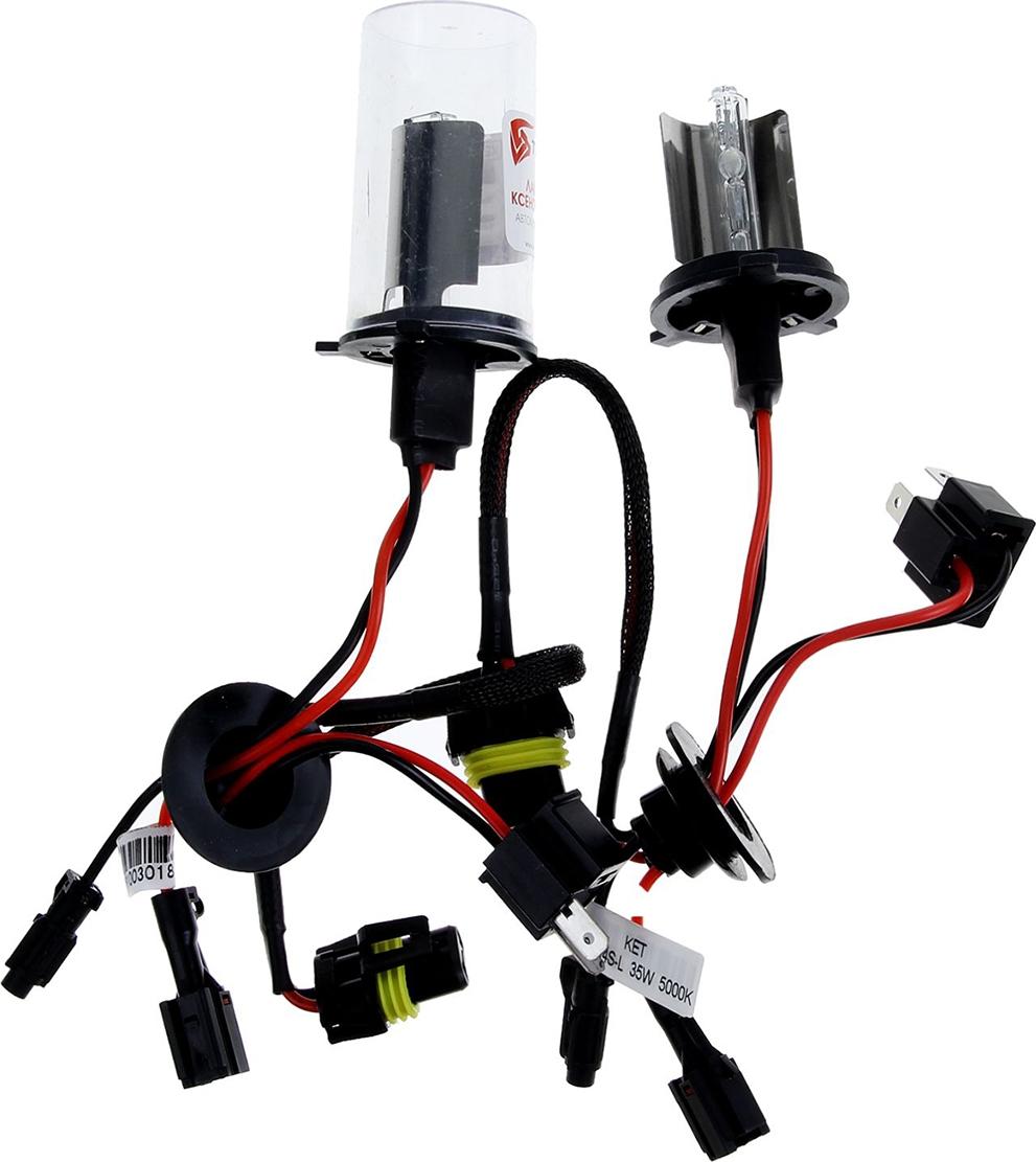 Комплект ксеноновых ламп Torso H4S-L, для блоков AC, 12 В, 5000 К, 2 шт. 1242245