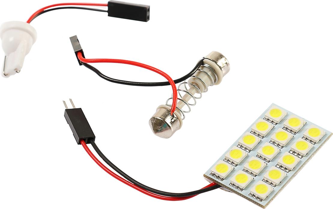 Панель светодиодная Torso 43 х 27 мм, 225 лм, 12 В, 15 SMD-5050, свет белый. 2612658