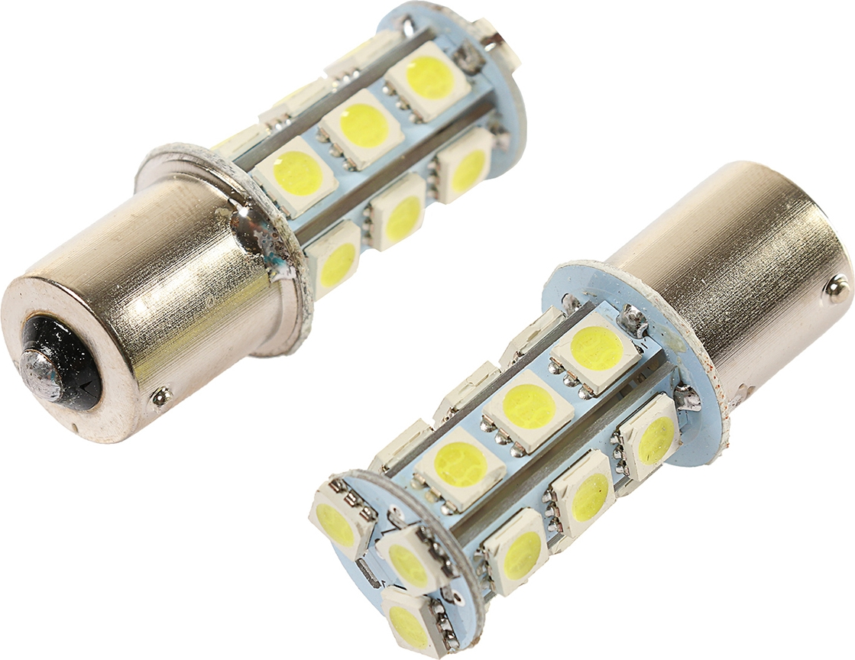 Комплект светодиодных ламп Torso P21/W, 12 В, 18 SMD-5050, свет белый, 2 шт. 2612662