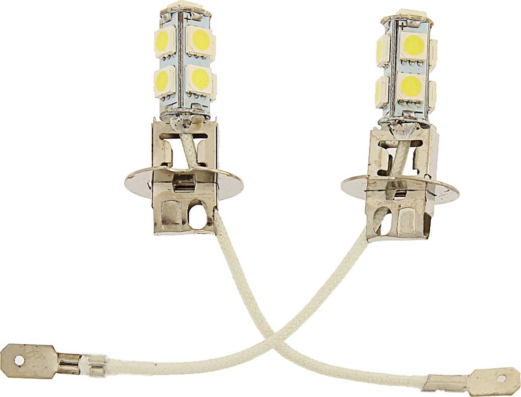 Комплект светодиодных ламп Torso H3, 12 В, 9 SMD-5050, свет белый, 2 шт. 2612666