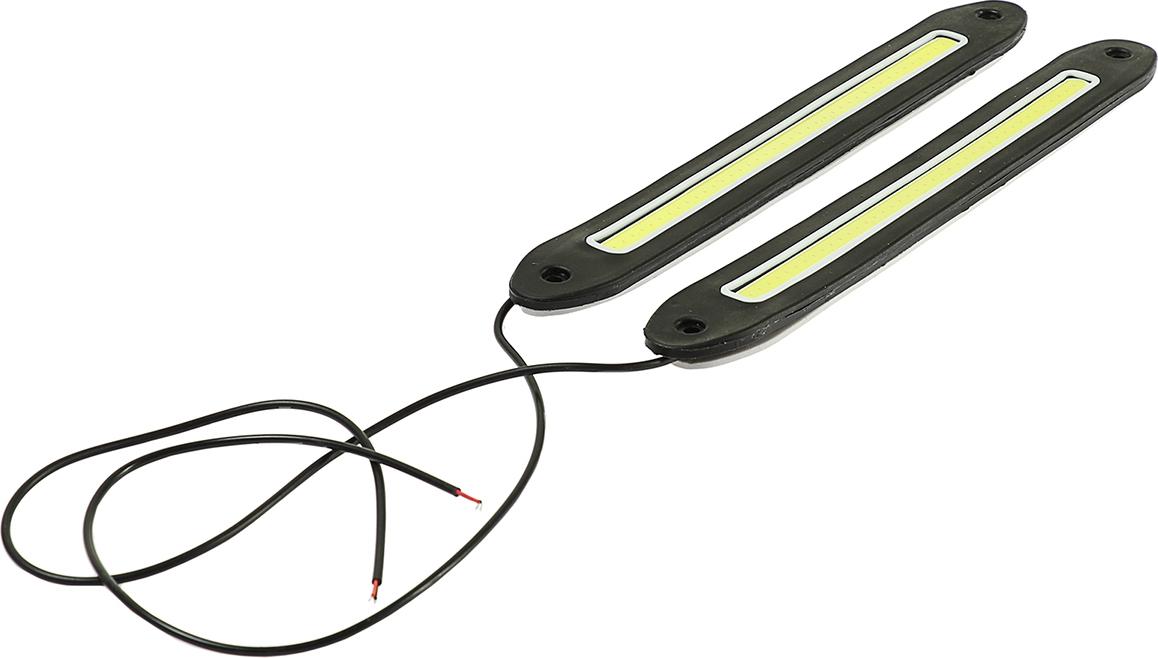Дневные ходовые огни Torso 80 LED, 12 В, 255 мм, свет белый, 2 шт. 2612676