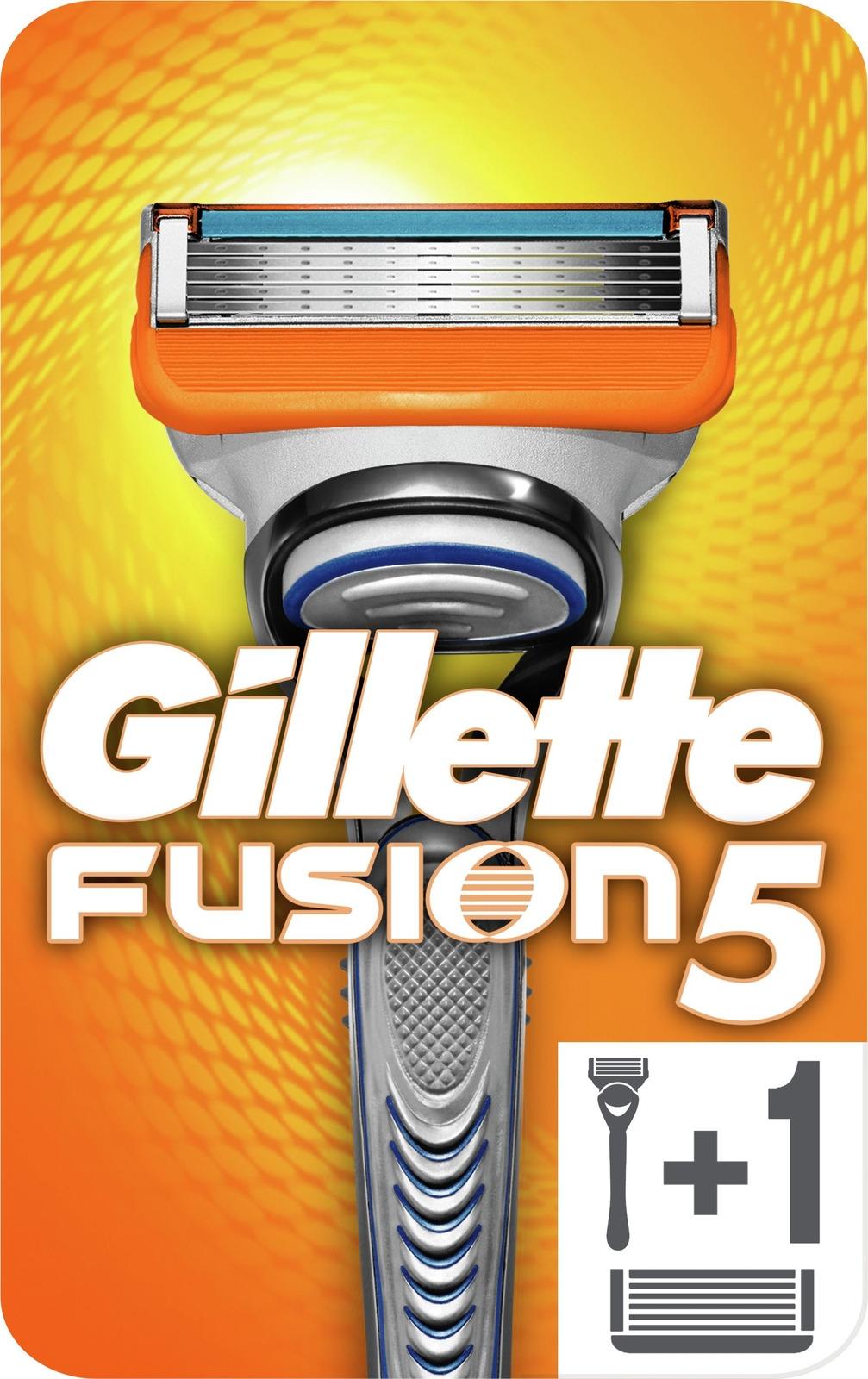 Gillette Fusion5 Мужская Бритва + 1 Кассета с 5 лезвиями