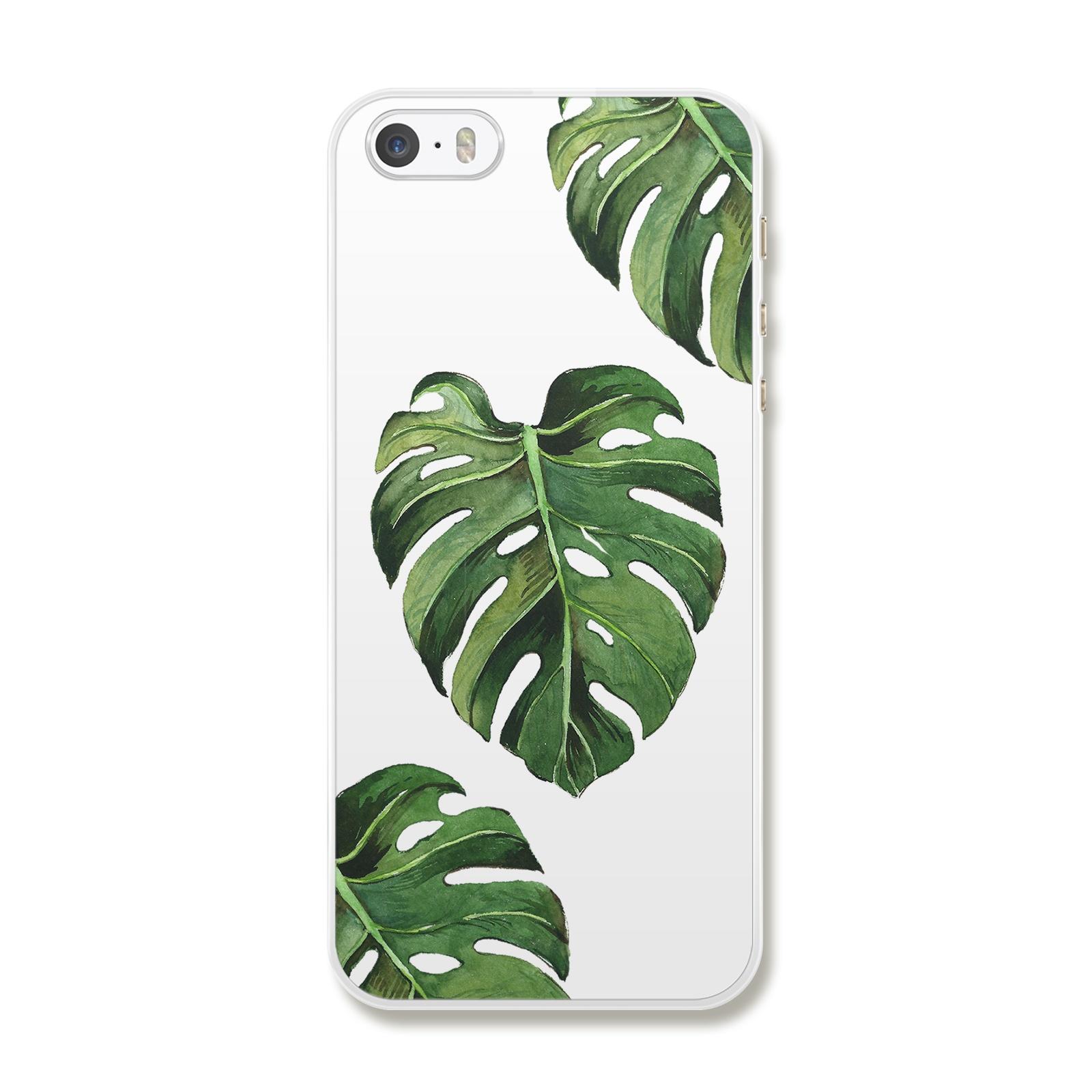 "Чехол для iPhone 5/5S/SE ""Листочки"""