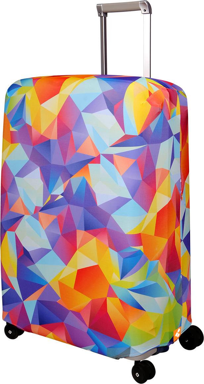 Чехол для чемодана Routemark Fable, цвет: мультиколор, размер L/XL (75-85 см) чехол для чемодана routemark ромбик в красном цвет красный