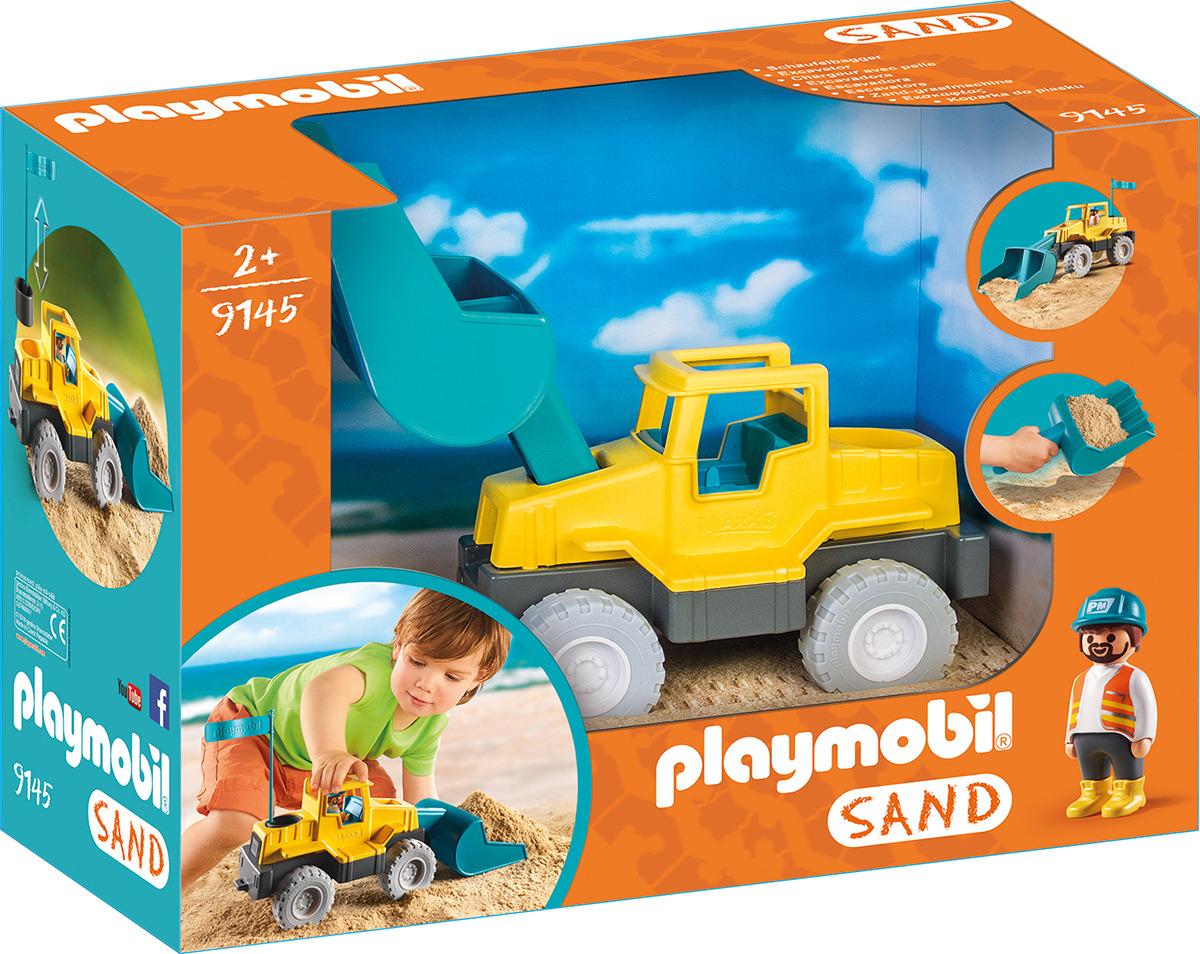 """Игровой набор Playmobil 1.2.3 """"Экскаватор"""""""