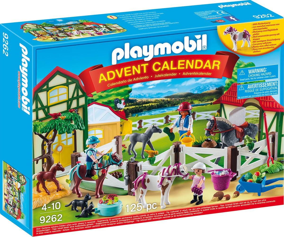 """Игровой набор Playmobil """"Адвент-календарь. Лошадиная ферма"""""""