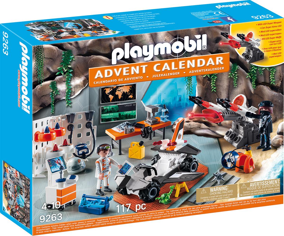 """Игровой набор Playmobil """"Адвент-календарь. Суперагенты"""""""