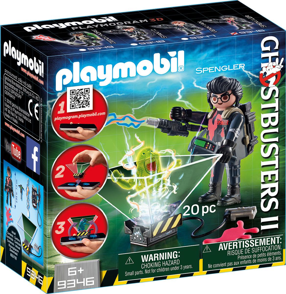 Фото - Игровой набор Playmobil Охотник за привидениями  Игон Спенглер, 9346pm проектор