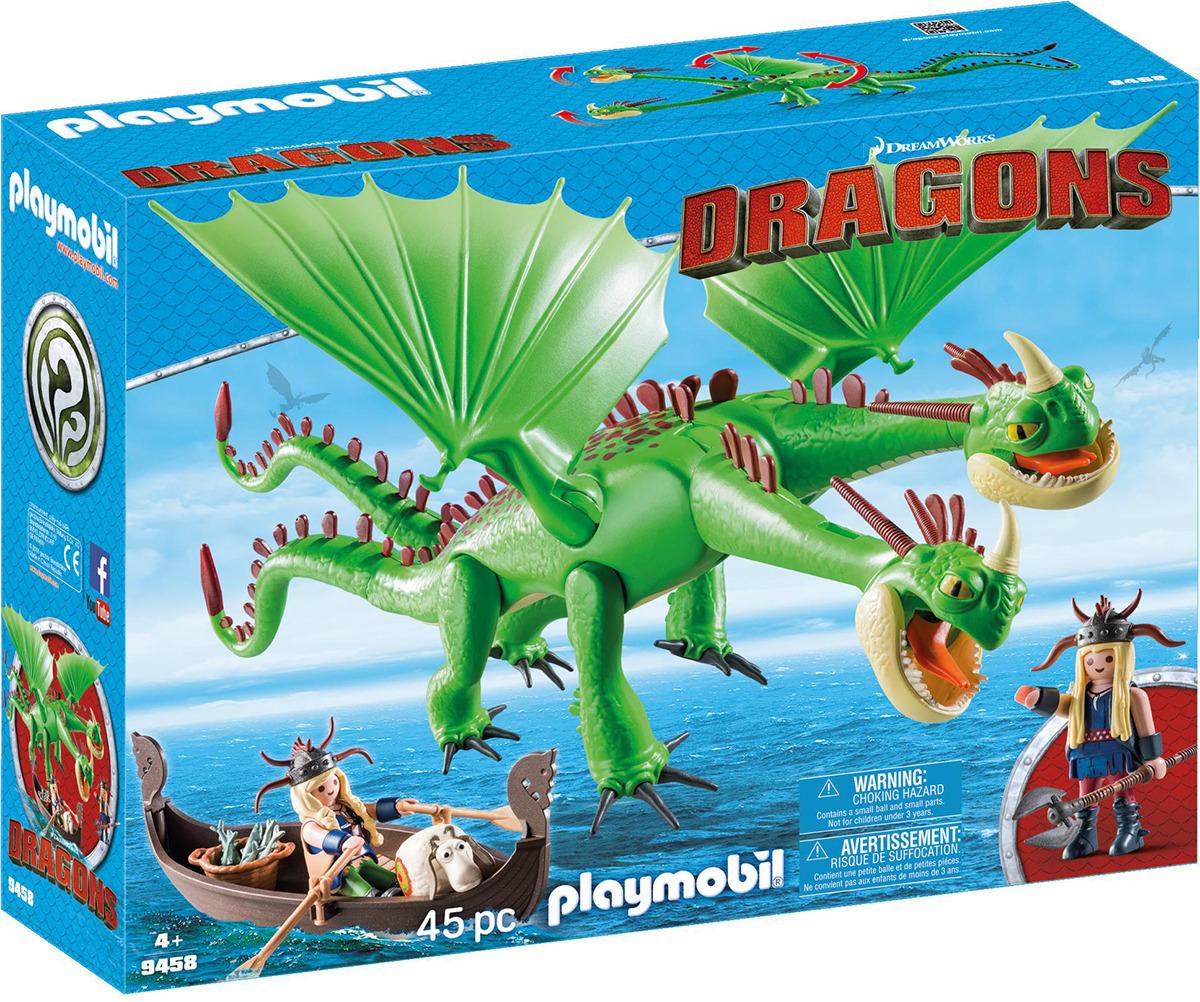 Игровой набор Playmobil Драконы Забияка и Задирака, 9458pm конструктор забияка гусеничная техника 1272760