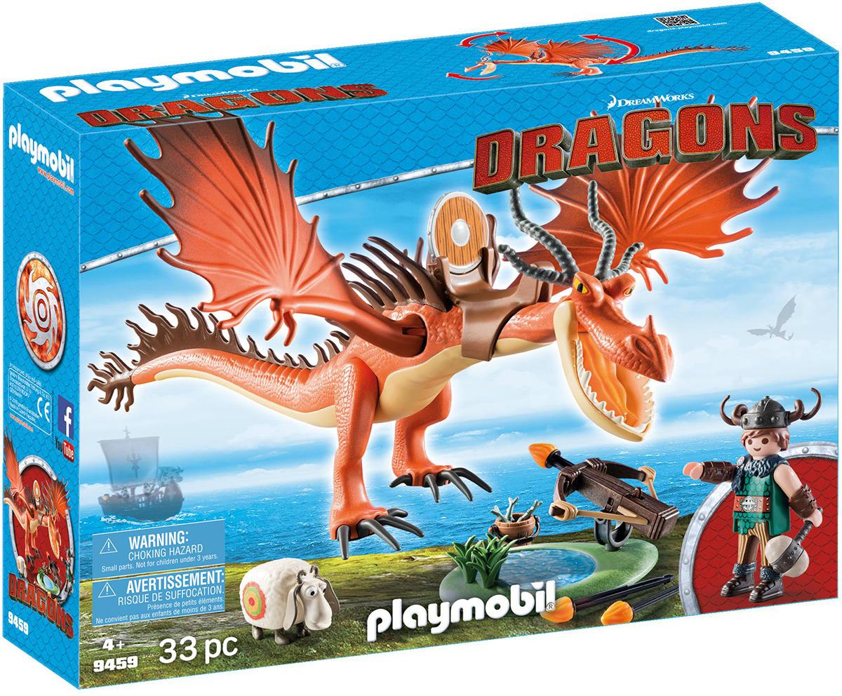 """Игровой набор Playmobil Драконы """"Сморкала и Криволык"""", 9459pm"""