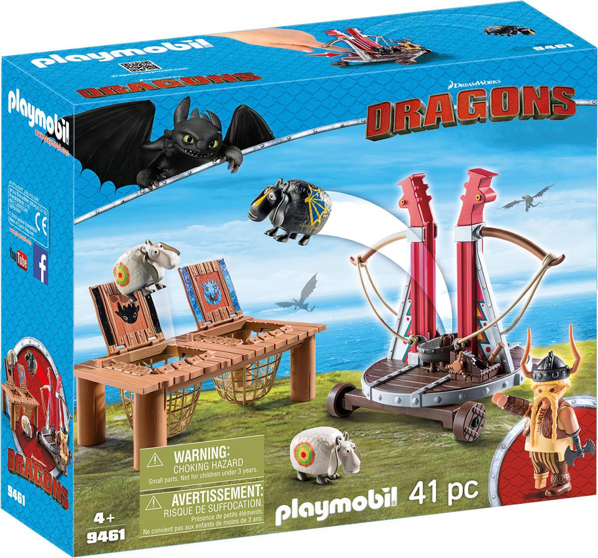"""Игровой набор Playmobil Драконы """"Плевака и Вепр"""", 9461pm"""