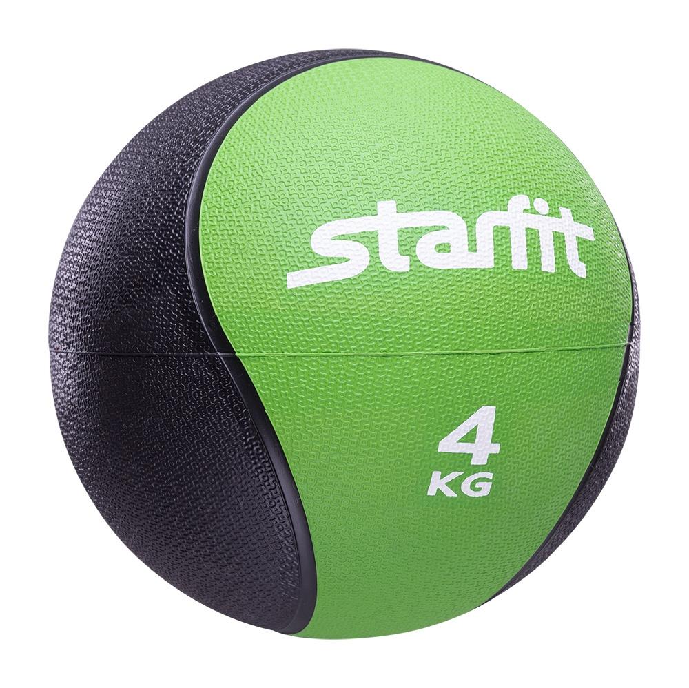 Мяч для фитнеса Starfit Медбол PRO GB-702, 4 кг, зеленый