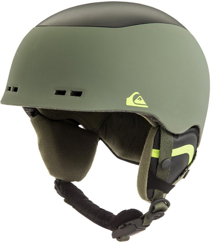 Шлем для горных лыж и сноуборда Quiksilver LENNIX M HLMT CRE0, цвет: зеленый. Размер S/M рюкзак мужской quiksilver everydaypostemb m eqybp03501 bng0 королевский синий