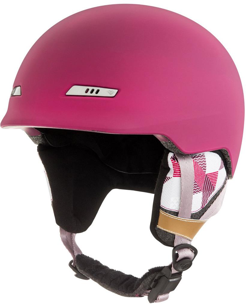 Шлем для горных лыж и сноуборда Roxy ANGIE SRT J HLMT RRV0, цвет: красный. Размер L