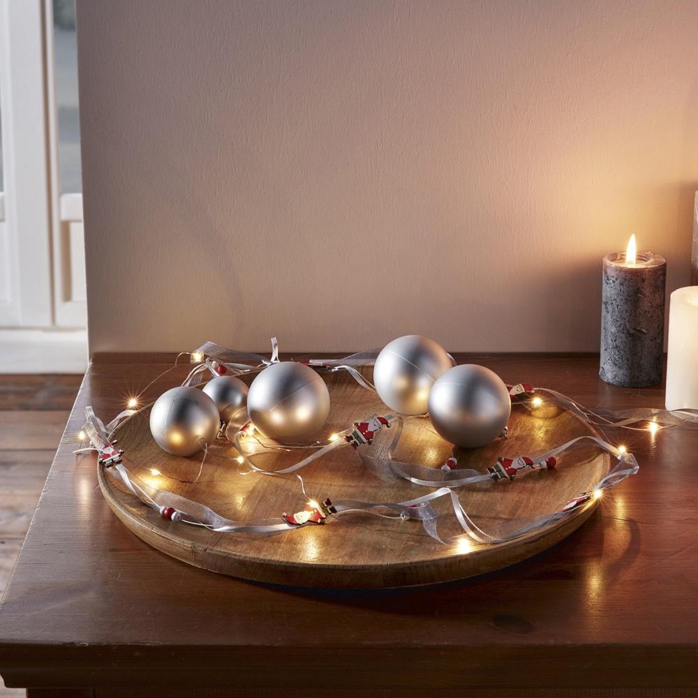 Фото - Гирлянда Хит-декор Санта, декоративная, 180 см гирлянда shlights ild120c gb