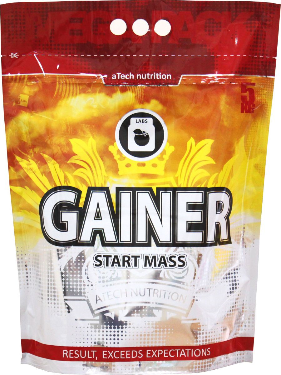Гейнер aTech Nutrition Gainer Start Mass, Nats cream, 5 кг цена