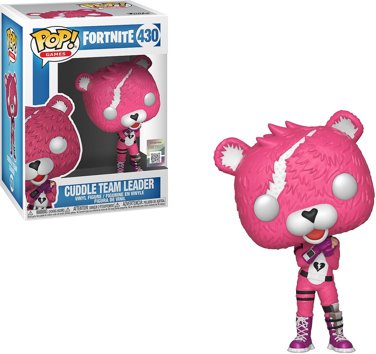 Фигурка Funko POP! Vinyl: Games: Fortnite: Cuddle Team Leader 35705 фигурка funko pop vinyl games fortnite s3 p a n d a team leader