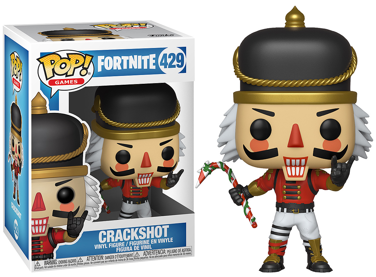 Фигурка Funko POP! Vinyl: Games: Fortnite: Crackshot 34977 make up for ever double ended angled eyebrow and eyelash brush 274 page 5