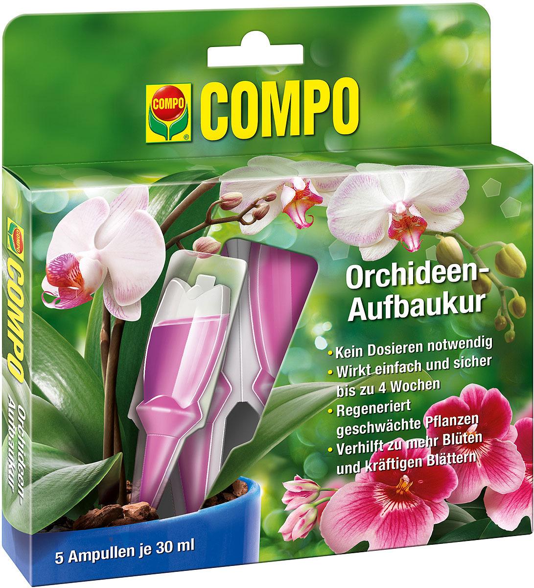 Удобрение для орхидей Compo, в аппликаторе, 5 х 30 мл удобрение жк для орхидей 285 мл