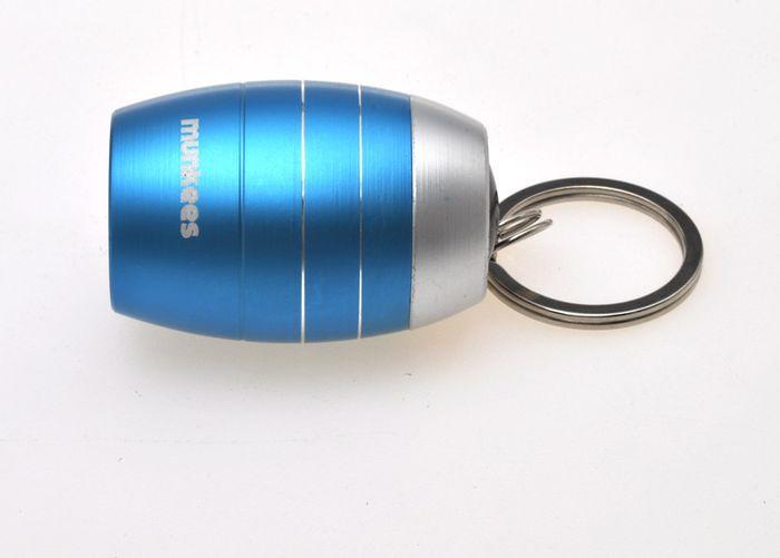 Брелок-фонарик Munkees Бочка, светодиодный, цвет: синий