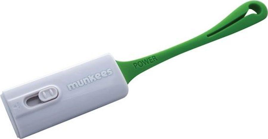 Брелок-внешний аккумулятор Munkees, на 500 мА/ч для iOS, iPhone, цвет: белый
