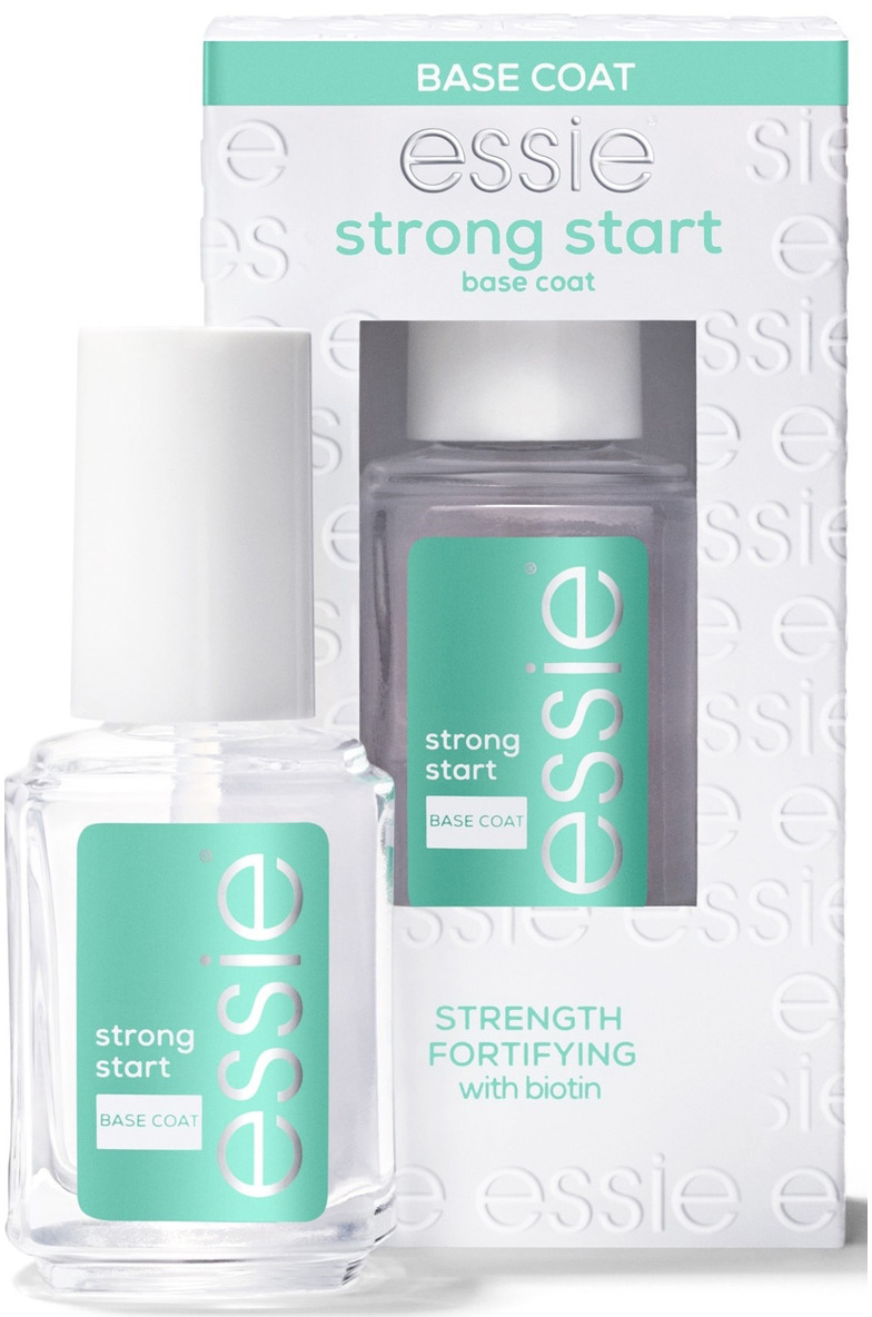 Универсальная основа по лак Essie As Strong As It Gets, ухаживающая и укрепляющая, цвет: прозрачный, 13,5 мл mavala мава стронг укрепляющая и защитная основа для ногтей мава стронг укрепляющая и защитная основа для ногтей