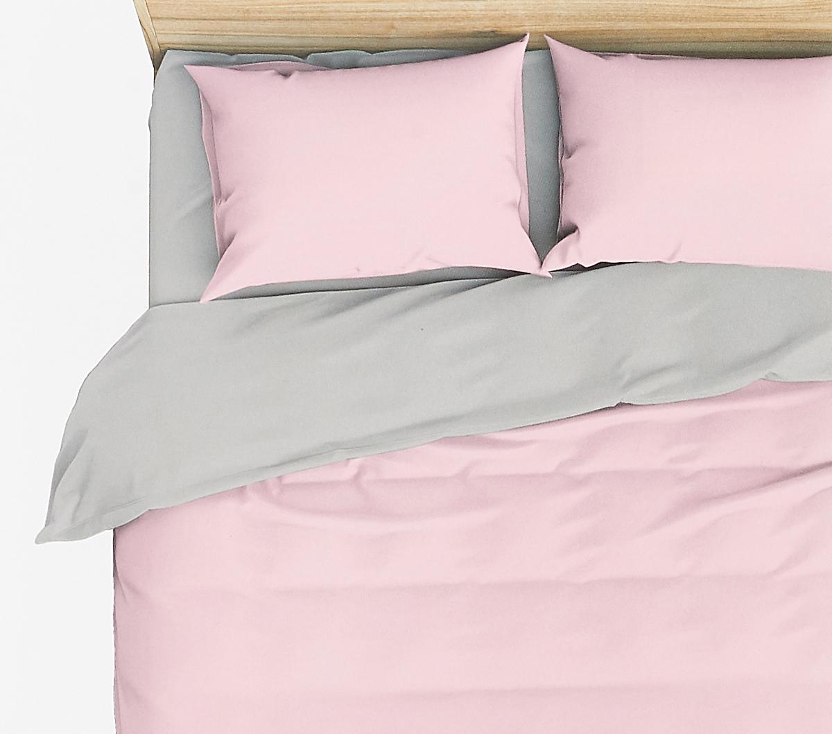 Комплект белья Василиса Розовый жемчуг, 2-спальный, наволочки 70x70, цвет: розовый. 372/1 комплект белья василиса мятная дымка 1 5 спальный наволочки 70x70 цвет зеленый розовый 363