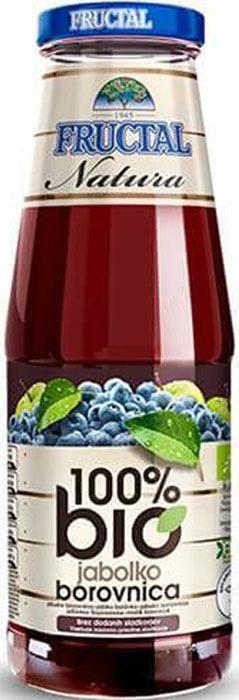 Сок яблочно-черничный Fructal, 0,7 л