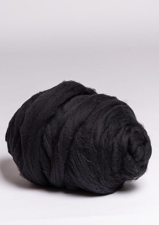 Пряжа Cloudlet толстая, цвет: черный, 3 кг