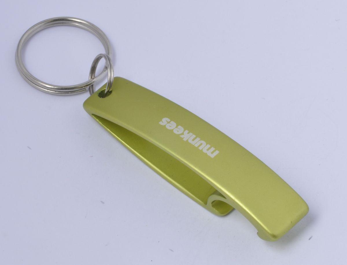Брелок-открывалка Munkees Эллипс, цвет: желтый брелок открывалка munkees стандартная цвет желтый